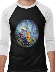 Radha Krishna Jhoola Leela Men's Baseball ¾ T-Shirt
