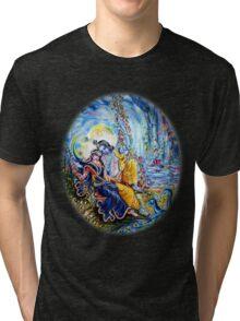 Radha Krishna Jhoola Leela Tri-blend T-Shirt