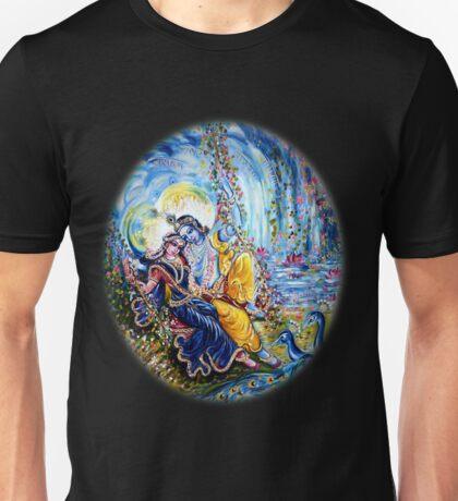 Radha Krishna Jhoola Leela Unisex T-Shirt