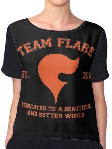 Team Flare Chiffon Top