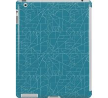 geometric line pattern iPad Case/Skin