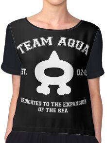 Team Aqua Ver. 2 Chiffon Top