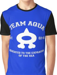 Team Aqua Ver. 2 Graphic T-Shirt