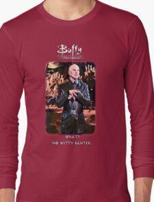 witty banter Long Sleeve T-Shirt