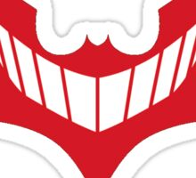 Joker behind Batman Sticker