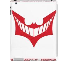 Joker behind Batman iPad Case/Skin