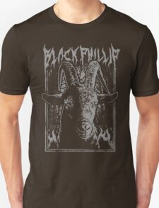Black Metal Phillip T-Shirt
