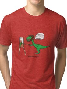 Bobrossiraptor Tri-blend T-Shirt