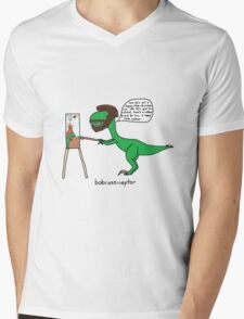 Bobrossiraptor Mens V-Neck T-Shirt