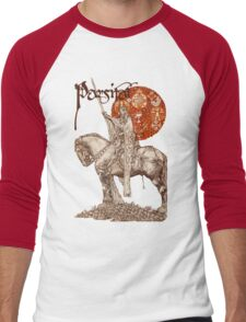 PERCEVAL LEGEND /QUEST OF HOLY GRAIL Red Fantasy Men's Baseball ¾ T-Shirt