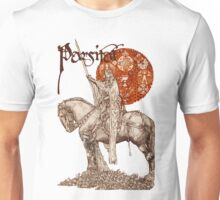 PERCEVAL LEGEND /QUEST OF HOLY GRAIL Red Fantasy Unisex T-Shirt