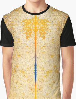 Royal ink design handmade with golden pigments and ink Graphic T-Shirt