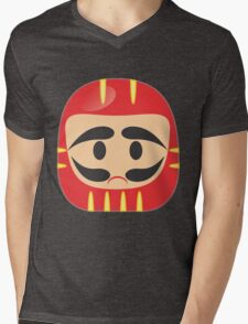 Daruma Mens V-Neck T-Shirt