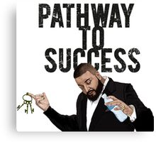 Pathaway to Success Canvas Print