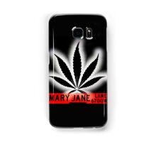 Mary Jane Lane - Black Leaf Samsung Galaxy Case/Skin