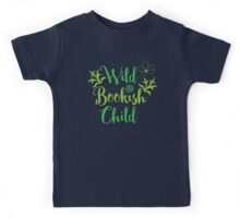 Wild bookish child Kids Tee