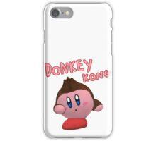 Donkey Kong Kirby iPhone Case/Skin