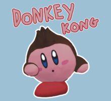 Donkey Kong Kirby One Piece - Short Sleeve