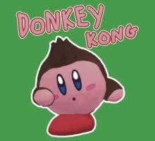Donkey Kong Kirby Kids Tee