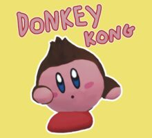 Donkey Kong Kirby One Piece - Short Sleeve