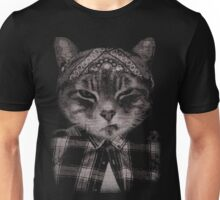 Gangster Cat (Platinum) Unisex T-Shirt
