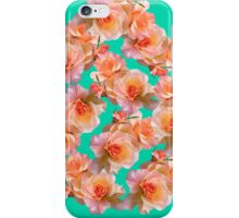 Flower pattern - Pink roses iPhone Case/Skin