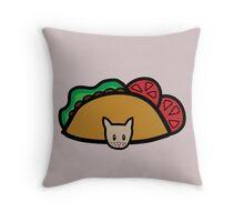 TacocaT Throw Pillow