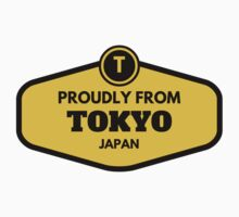 Proudly From Tokyo Japan Kids Tee