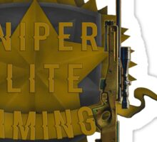 Sniper Elite Gaming Products  Sticker