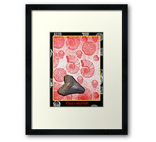 The Shark Tooth Framed Print
