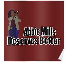 Abbie Mills Deserves Better Poster