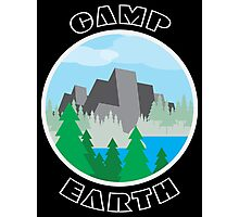 Camp Earth Photographic Print