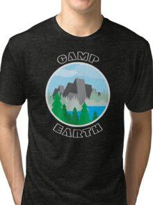 Camp Earth Tri-blend T-Shirt
