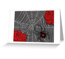 //Black Widow\\ Greeting Card