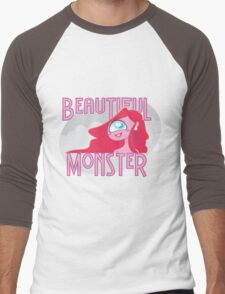 Beautiful Monster Men's Baseball ¾ T-Shirt