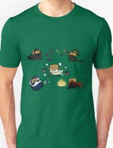 All Magic Bers Cast Coffee 1! Horizontal Alignment Unisex T-Shirt