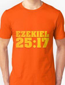 Ezekiel Pulp Fiction Movie Quote T-Shirt