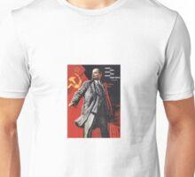 Soviet Poster: Lenin  Unisex T-Shirt