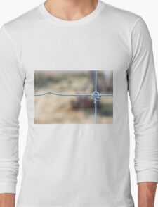 Wire Fence Long Sleeve T-Shirt