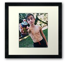 Johnny Orlando [Paiting Effect] Framed Print