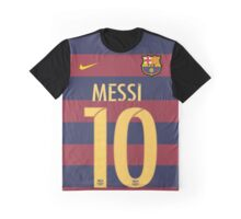 messi, barsa, barcelona, argentina, 10, dorsal, number Graphic T-Shirt