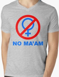 No Ma'am Club - TV show inspired shirt  Mens V-Neck T-Shirt