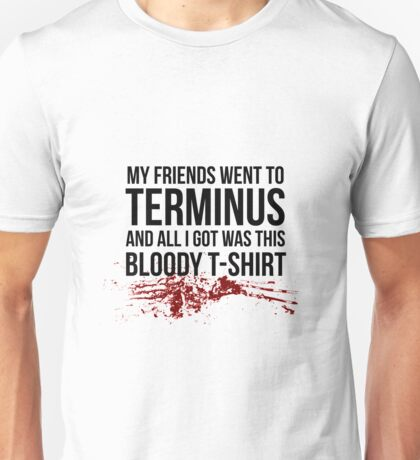 Terminus - The Walking Dead Unisex T-Shirt