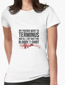 Terminus - The Walking Dead Womens Fitted T-Shirt
