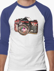 Canon Men's Baseball ¾ T-Shirt