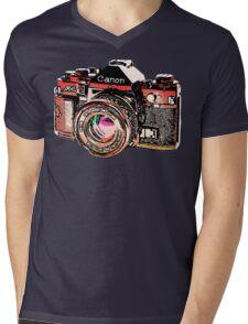 Canon Mens V-Neck T-Shirt