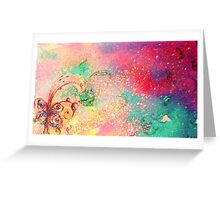 GARDEN OF THE LOST SHADOWS / MAGIC BUTTERFLY PLANT Greeting Card