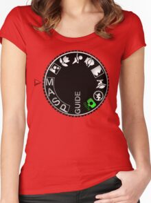 Manual Mode Women's Fitted Scoop T-Shirt