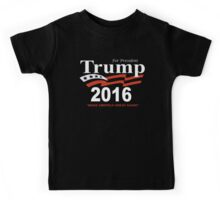 Donald Trump for President 2016 Navy USA Kids Tee