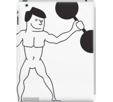 Strong Man iPad Case/Skin